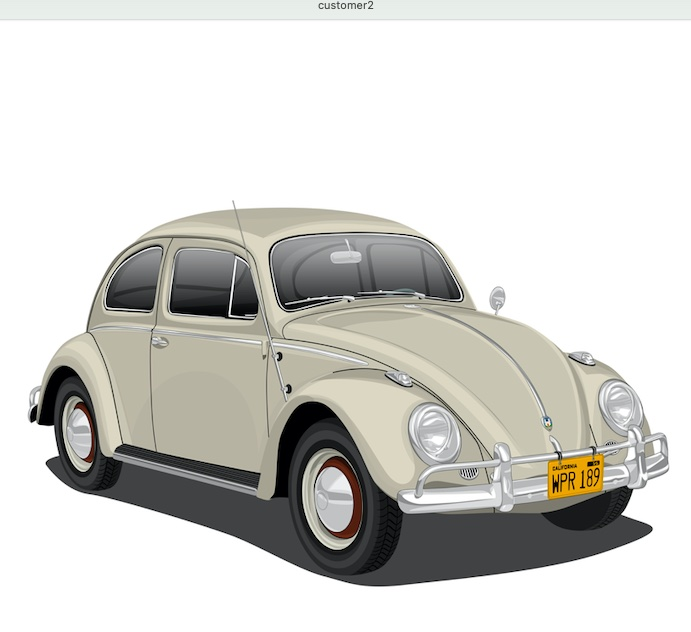 A 1959 Bug is the subjsct of new offering from Respoke Collection.