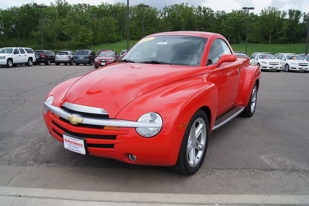 They haven't been manufacctured for 14 years and they're not seen often. But the Chevrolet SSR has a cult following.