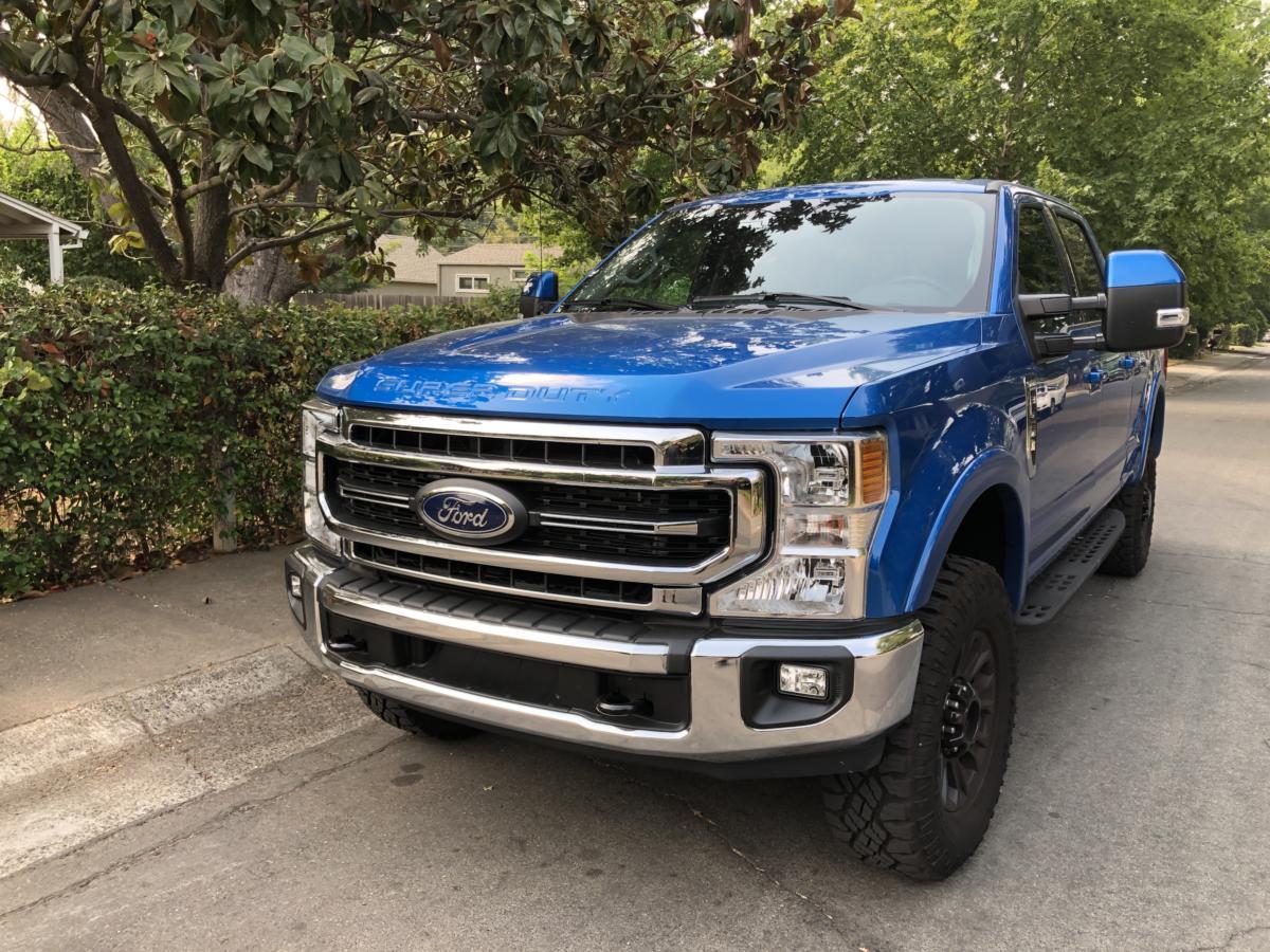 The 2021 Ford F-250 pickup trucks retains the truck maker's market dominance reputation.