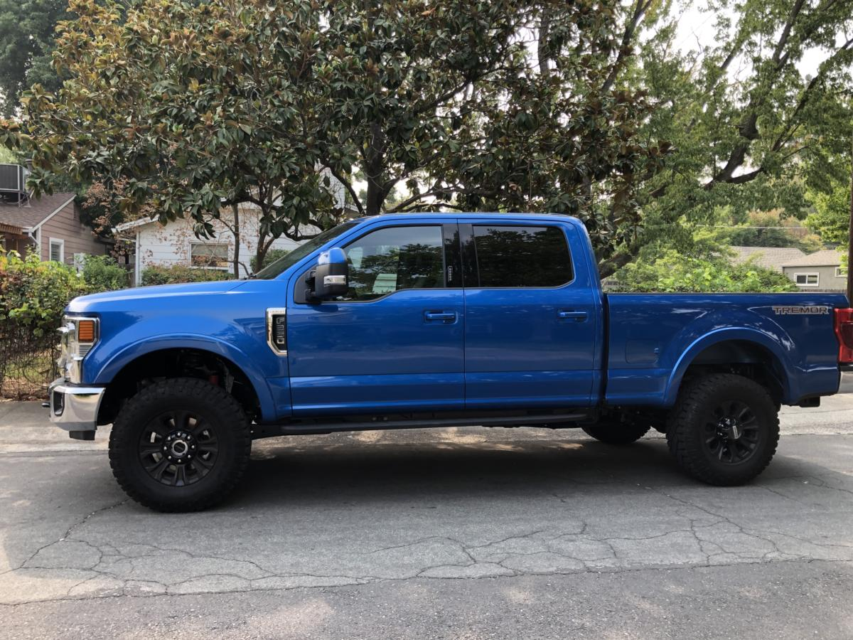 The 2021 Ford F-250 has a varieyt of towing capacities depending upo trim level.