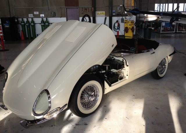 a 1961 Jaguar XKE presented a recent Jaguar event in Sacramento, California.