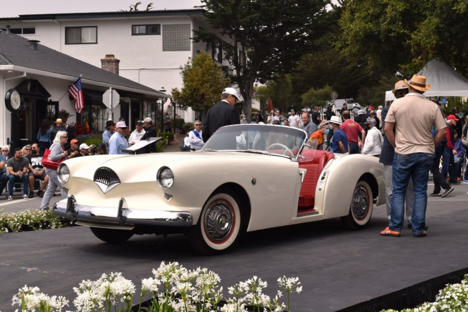 There's usually at least one Kaiser-Darrin at every edition of the Concours on the Avenue.
