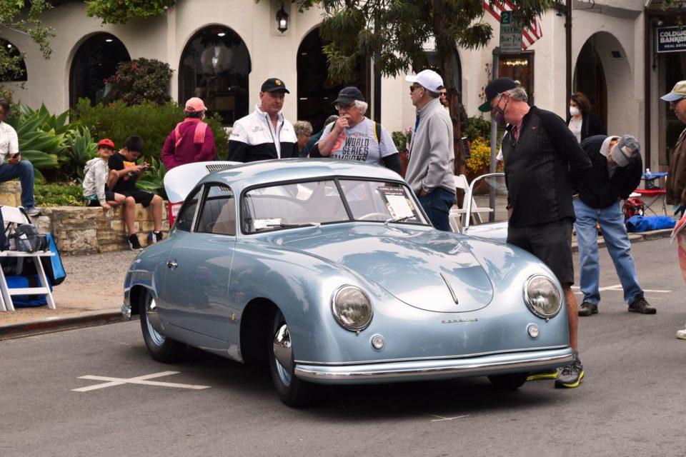 Monterey Auto Week: Vintage Porsches had s dominating presence.