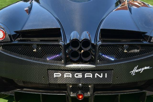 A rare Pagani was a featured at The Quail: A Motorsports Gathering during manufacturer during The Quail: A Motorsports Gathering during Monterey Auto Week.