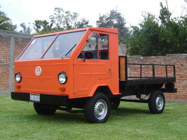 The VW Basis-Transporter found limited success in Europe and Asia but wasn't available in the United States.