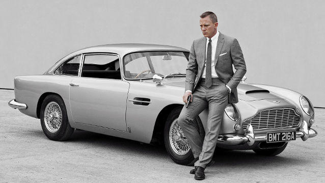 The Aston Martin DB 10 is used the current James Bond movie, Spectre.