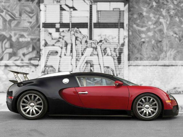 The first Bugatti Veyron was auctioned a few years ago during Monterey Auto Week.