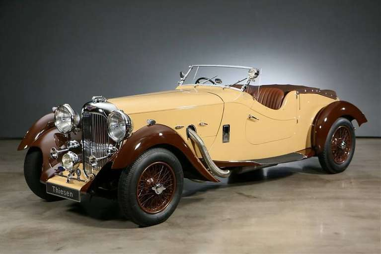 Charlie Watts the recently deceased Rolling Stones drummer, owned a 1937 Lagonda Rapide Cabriolet with a V12.