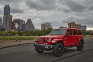 The 2021 Jeep Wrangler Sahara 4xe.