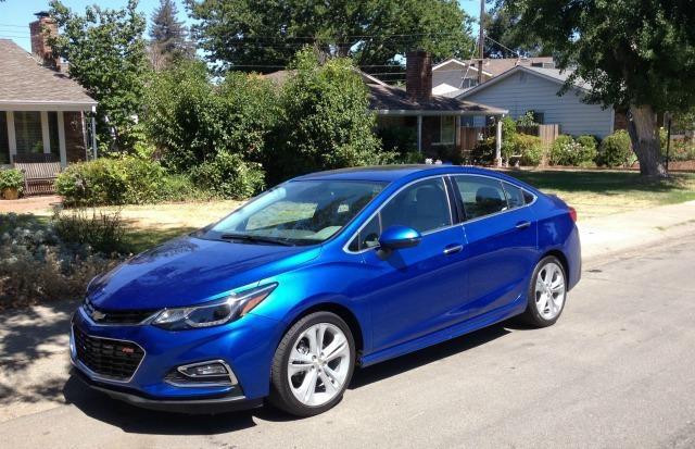 The 2016 Chevrolet Cruze is completely redesigned.