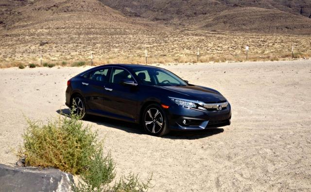 2016 Honda Civic: Driving the Tour of Utah efficiently fast 4