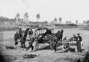 History of the Ambulance - American Civil War