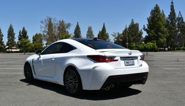 The 2016 Lexus RC F is a high performance luxury sports car.
