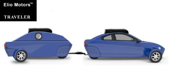 The 6 800 Elio 3 Wheeler Will Have A Hitch A Traveler