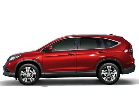 The 2015 Honda CR-V has a new exterior look