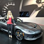 Manufacuter ambassadors often help debut vehicles at the LA Auto Show.