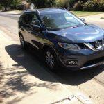 The 2015 Nissan Rogue has a handsome exterior design.