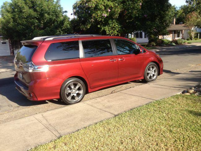 The 2015 Toyota Sienna has been refreshed inside and outside.