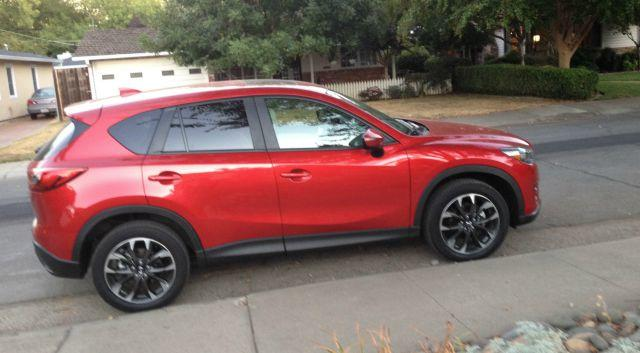 The 2016 Mazda CX-5 has been refreshed inside and outside.