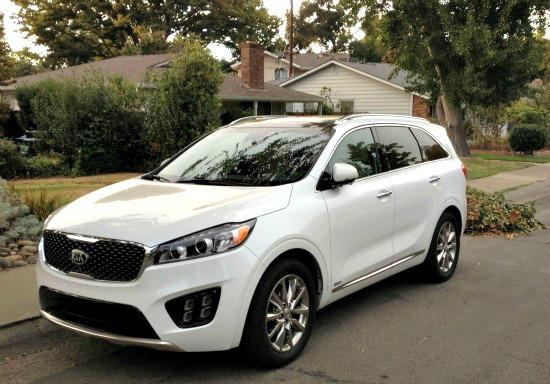 The 2016 Kia Sorento has been redesigned inside and outside.