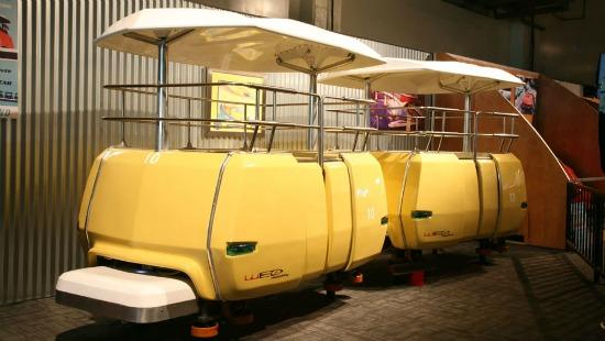 The PeopleMover is among many Disneyland Memorabilia items set for auction.
