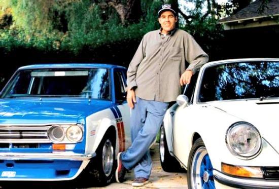 Car enthusiat, comedian Adam Carolla