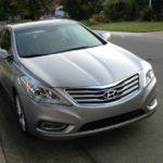 2013 Hyundai Azera: Aggressive front grille design.