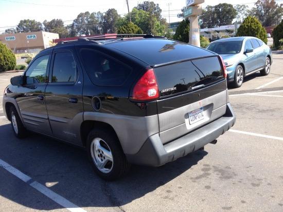 The Pontiac Aztek is now a cult vehicle.