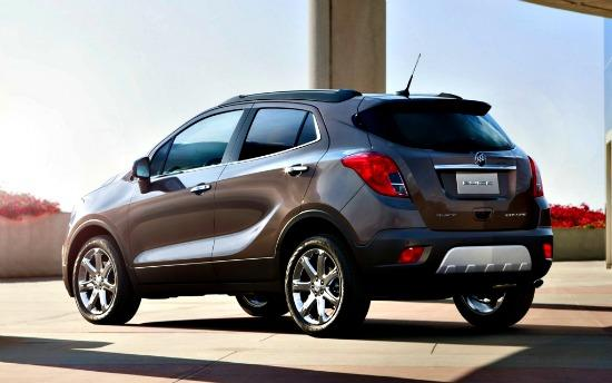 The 20113 Buick Encore is the carnaker first crossover