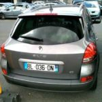 A Clio Peugeot one of the most rented cars in France.