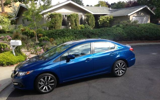 The 2015 Honda Civic in available in nearly a dozen trims.