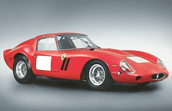 Ferrari has nine of top-10 most expensive auctioned cars