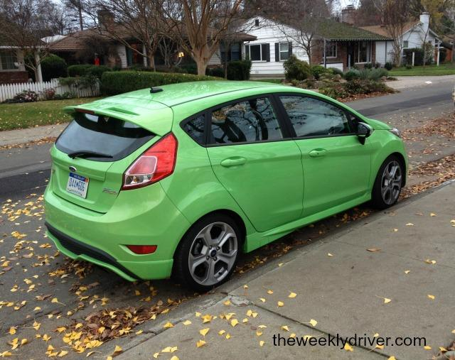 The 2014 Ford Fiesta is sporty for its class.