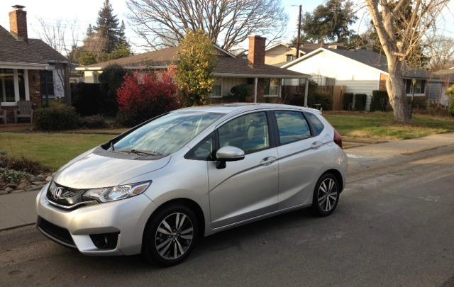 The 2015 Honda Fit has been redesigned inside and outside.