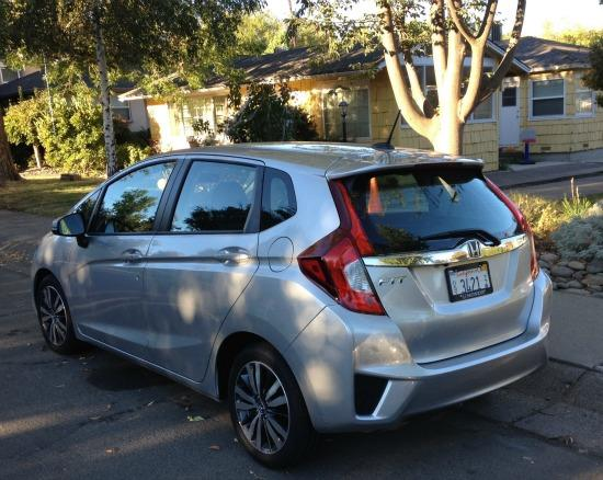 The 2016 Honda Fit has an easily accessible cargo area.