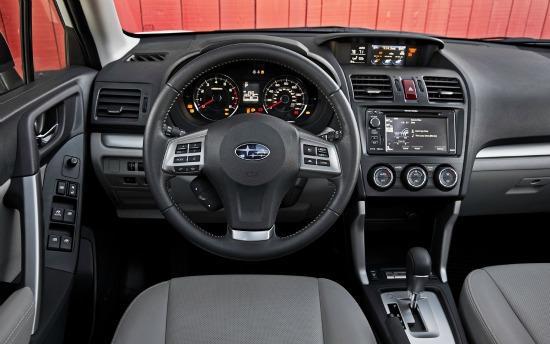 The 2014 Subaru Forester has a efficiently designed interior