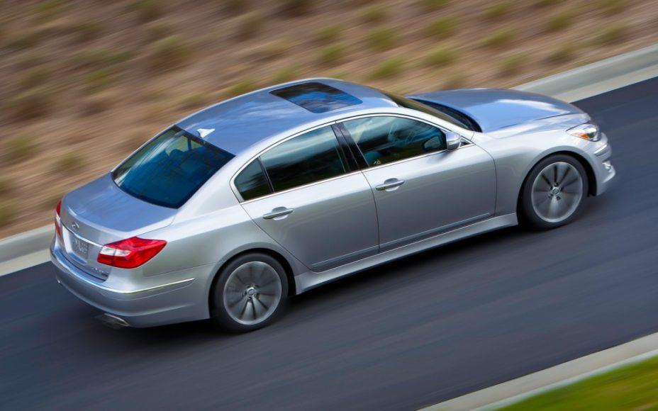 The 2013 Hyundai Genesis is  luxury sedan