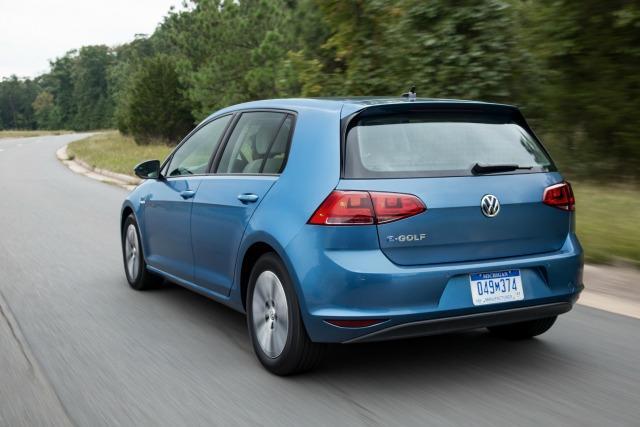 The 2015 Volkswagen e-Golf will have zero tailpipe emissions.