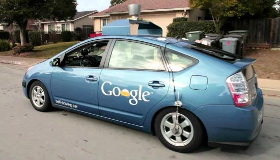 The Google driverless prototype has been tested for the past few years.