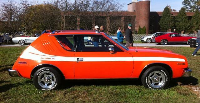 The AMC Gremlin, once considered ugly, is now a collector's car.