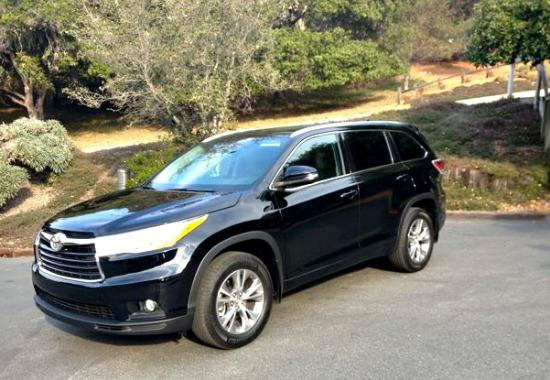 The 2013 Toyota Highlander has a lot of room.