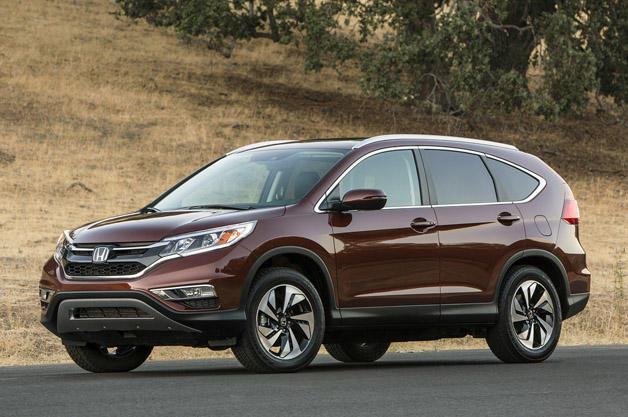 The 2015 Honda CR-V has been redesigned. Image Source: autoblog.com