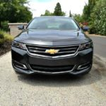 The new front-end design of the 2014 Chevy Camaro