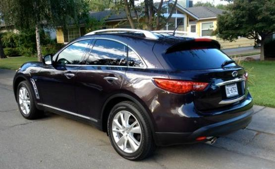 The Infinit QX70 is newly named and still plus for 2014.