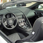 The interior of the new Jaguar Project 7.