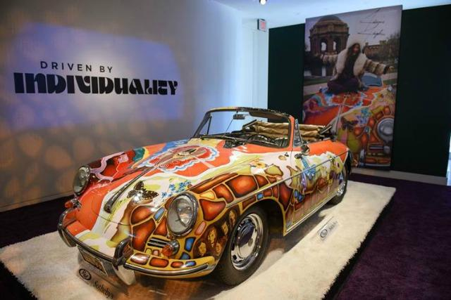 The Porsche 356 Porsche owned and driver by Janis Joplin sold for a record $1.76 million.