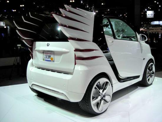 2013 Smart car concept at the 2012 LA Auto Show