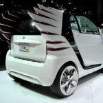Smart concept car at LA Auto Show.