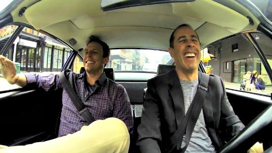 Jerry Seinfeld is the host of Comedians in Cars Getting Coffee