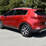 The 2017 Kia Sportage has been redesigned inside and outisde.